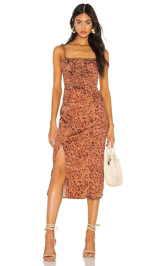 Show Stopper Midi Dress