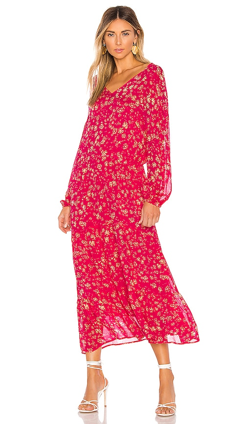 Wall Flower Midi Dress