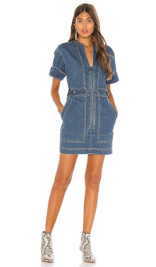 Dream On Denim Mini Dress