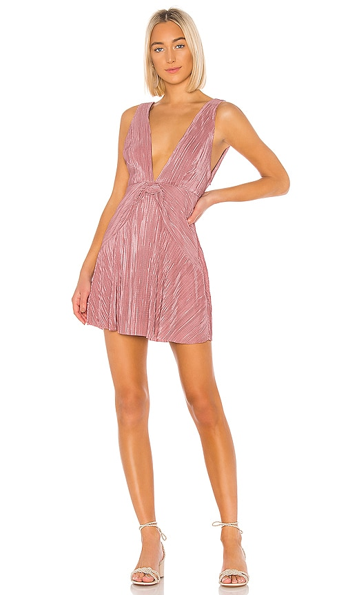 Twist And Shout Mini Dress