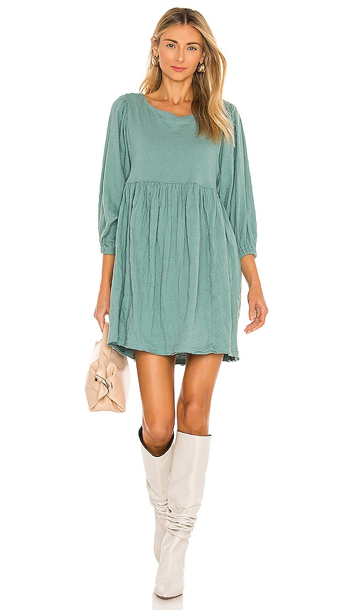 Free People GET OBSESSED BABYDOLL DRESS