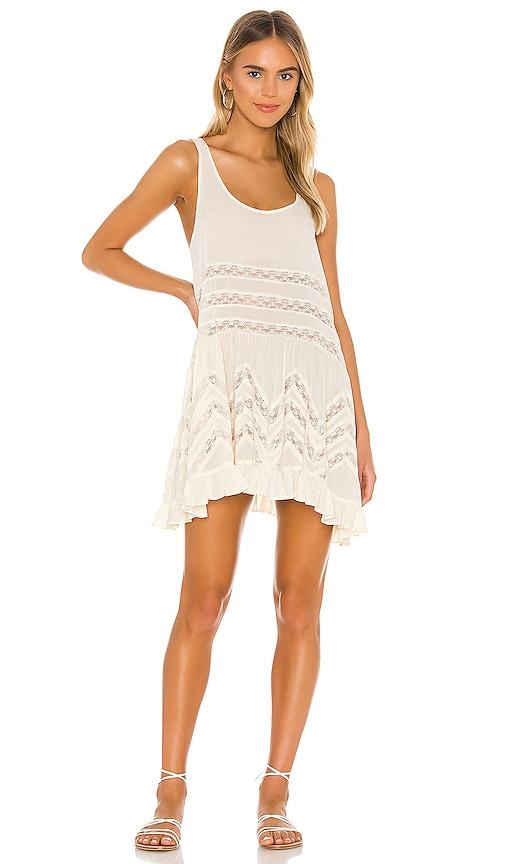 Voile and Lace Trapeze Slip. Free People