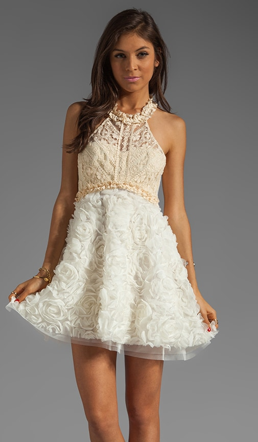 Babydoll Bouquet Party Dress