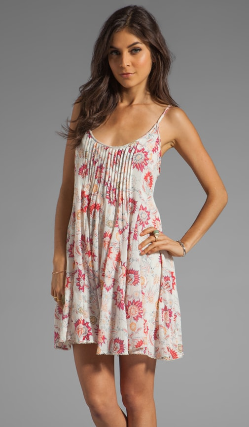 Pintuck Gauze Dress