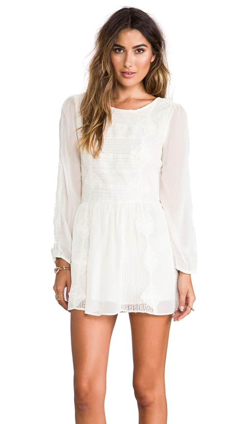 Leigh Long Sleeve Lace Dress