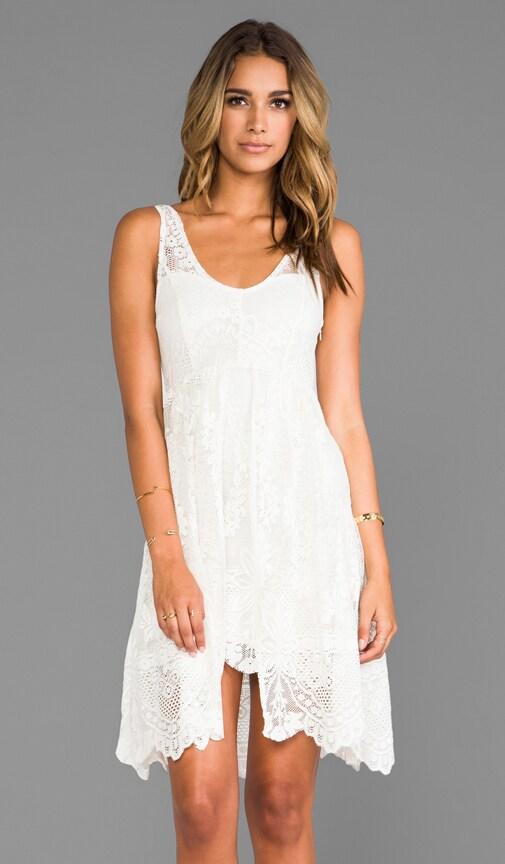 Salinas Foil Print Dress
