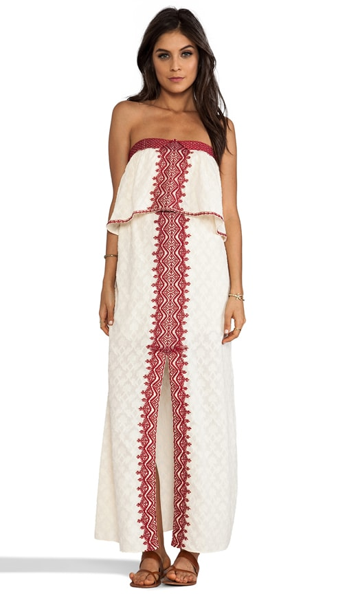 Marrakesh Strapless Embroidered Dress