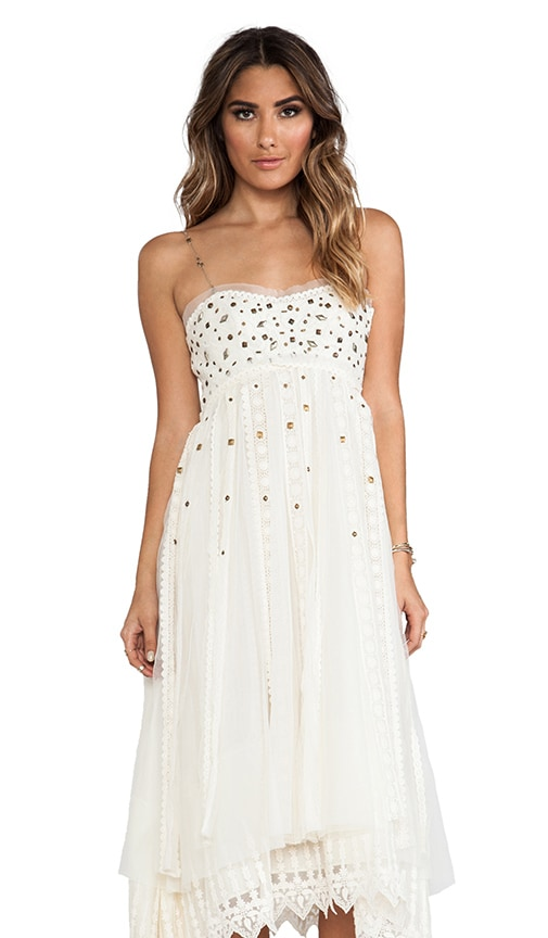 Studded Lace Party Dress