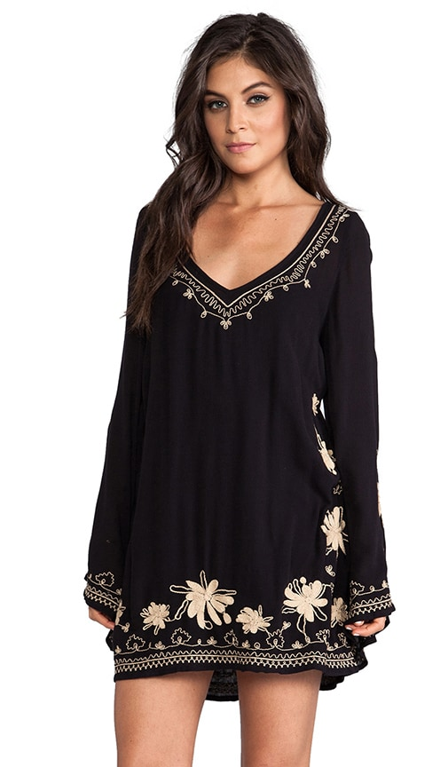 Sky Fall Embroidered Dress