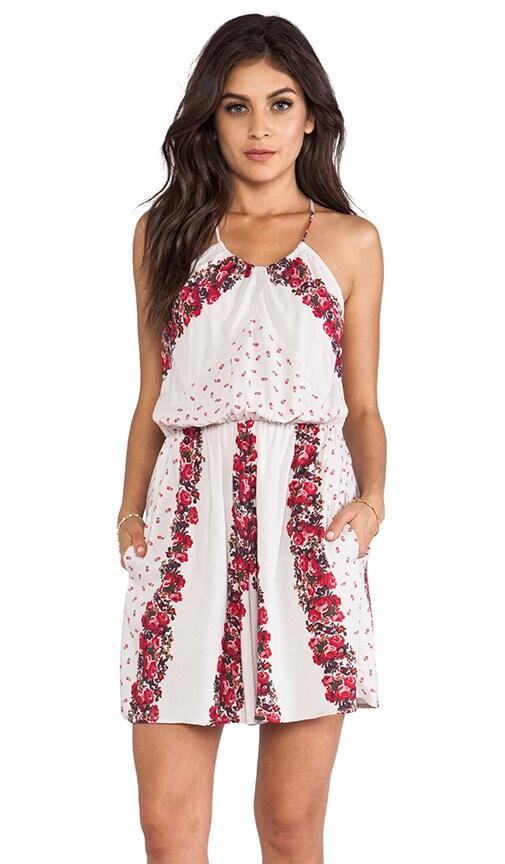 Simona High Neck Dress
