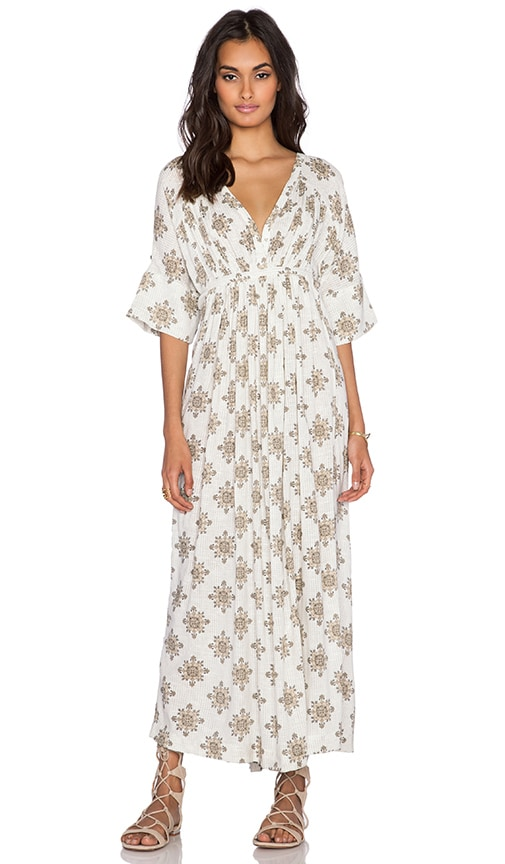 Free People Oasis Maxi Dress in White