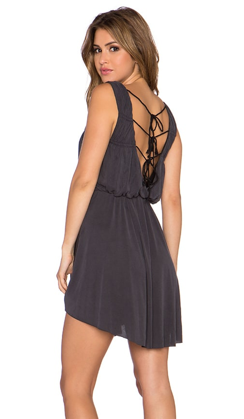 Free People New Cupro True As Love Dress in Black