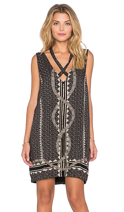 Diamonds & Snakes Mini Dress