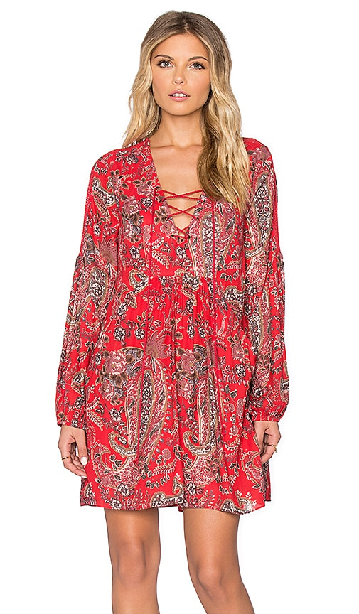 Rain or Shine Printed Dress