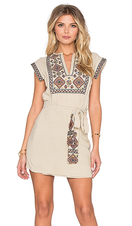 Running Wild Embroidered Dress