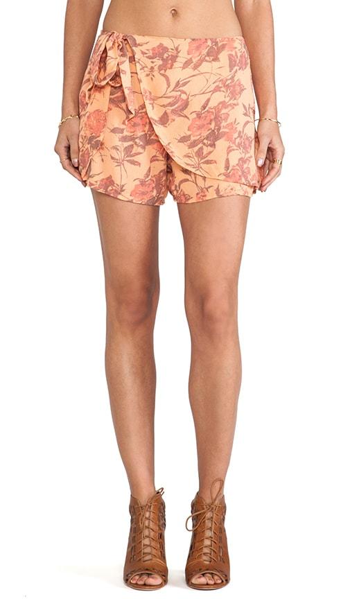 Printed Sarong Short