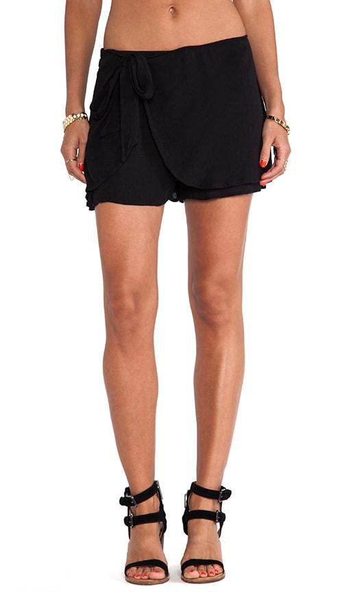 Solid Sarong Short