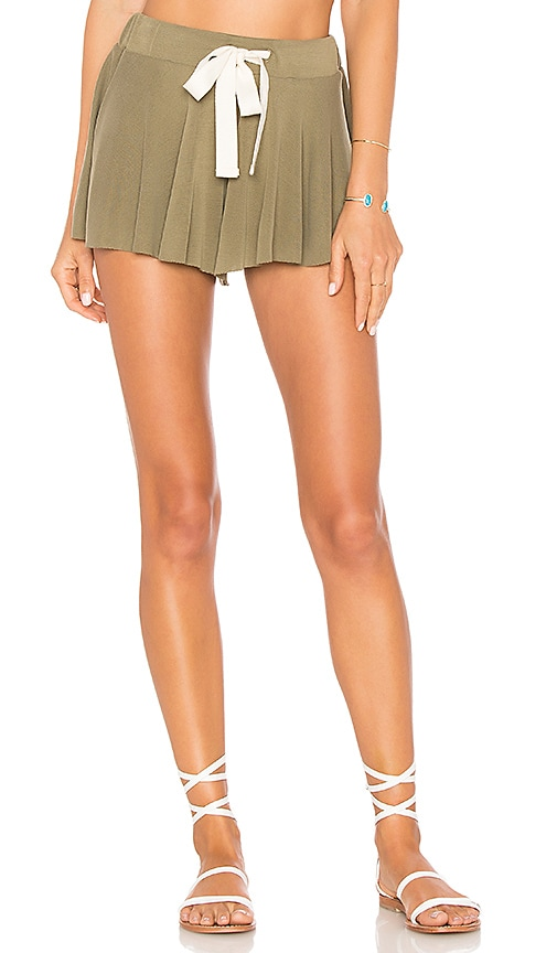 Free People Legs For Days Short in Olive