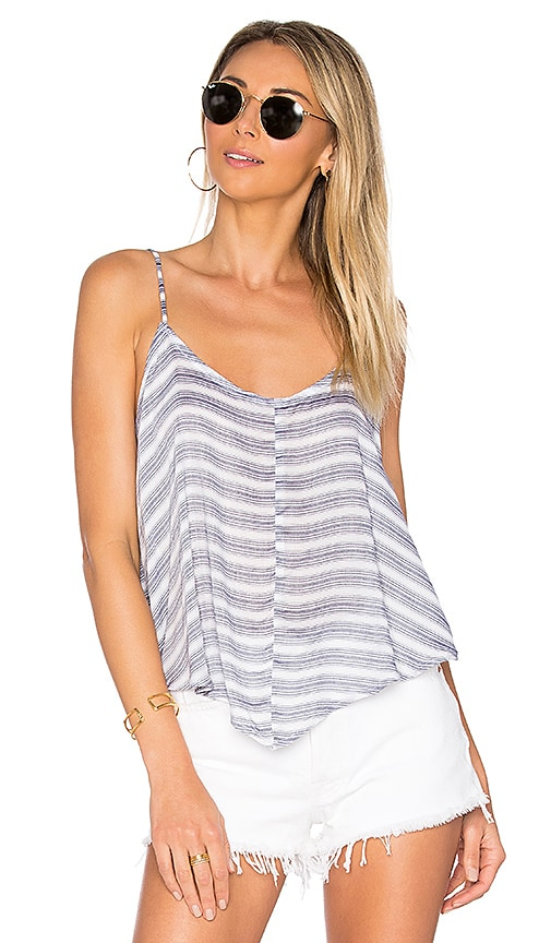 Free People Crossroads Cami Striped in Blue