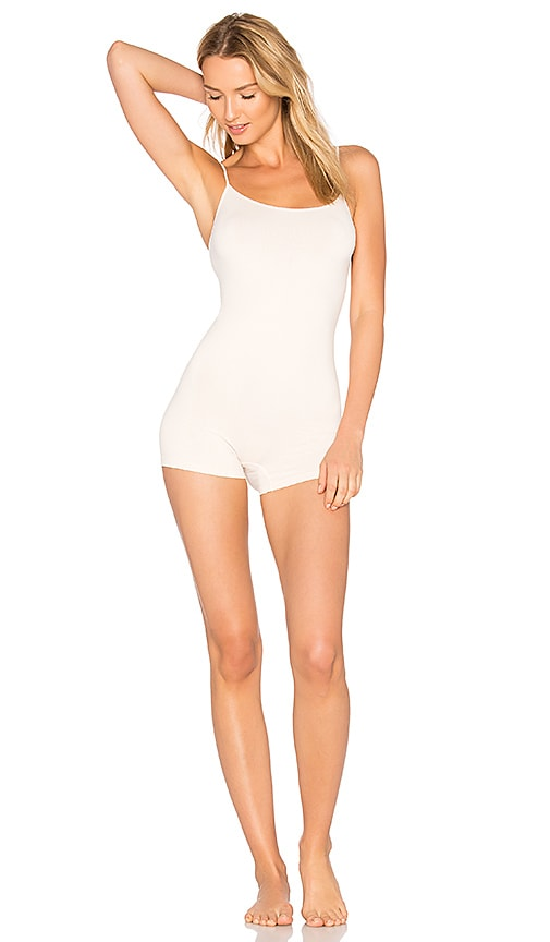 Free People Seamless Romper in Ivory