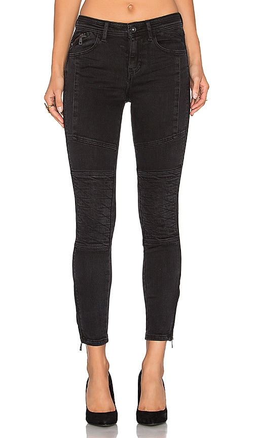 Free People Vintage Stretch Midnight Magic Pant in Black