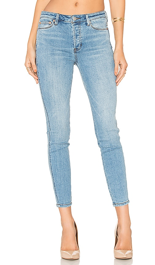 Free People Payton Hi Rise Skinny Jean in Light Denim