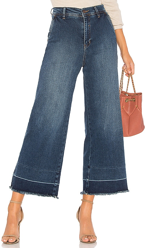 Free People The Vintage A Line Jean in Blue