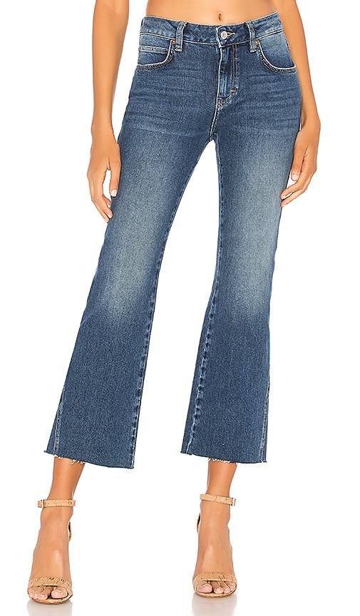 Rita Crop Flare Jean