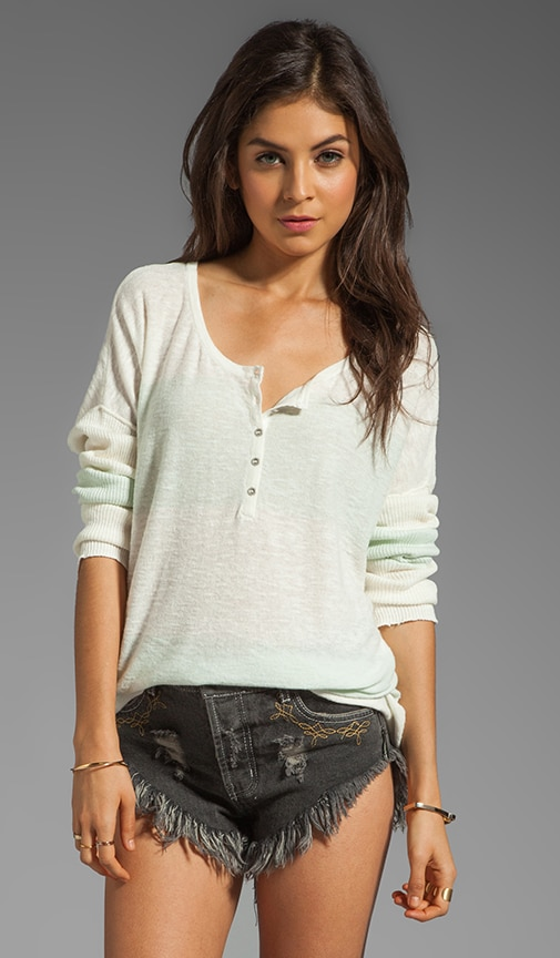 Gold Rush Henley Sweater