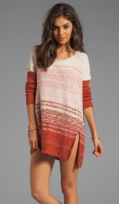Side Split Pullover Dress
