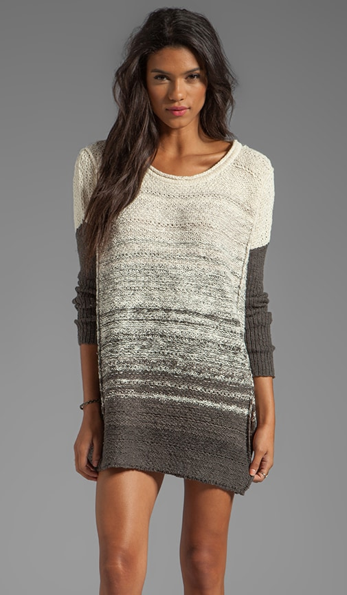 Side Split Pullover Dress
