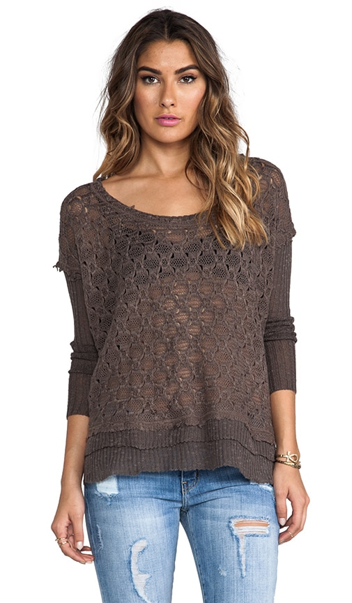 Boxy Textured Sweater