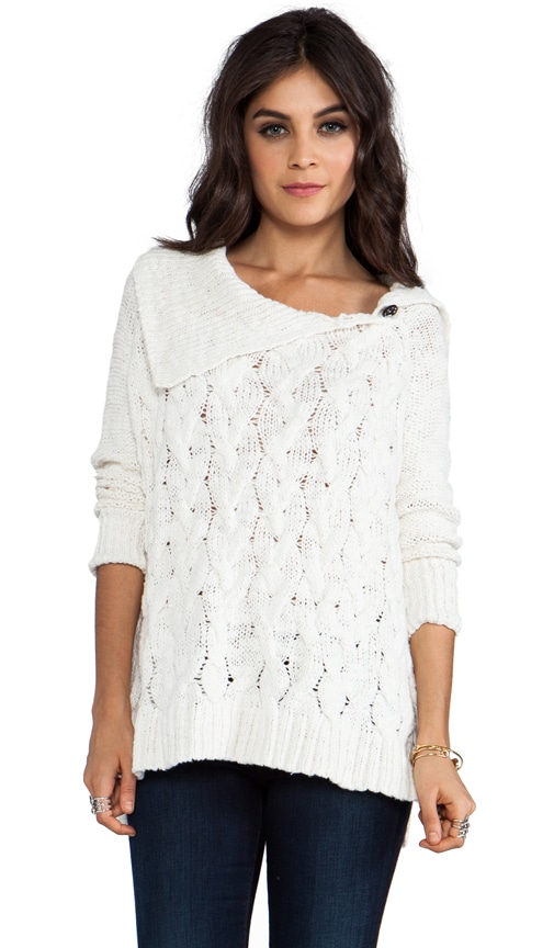 Berkeley Cable Poncho Sweater