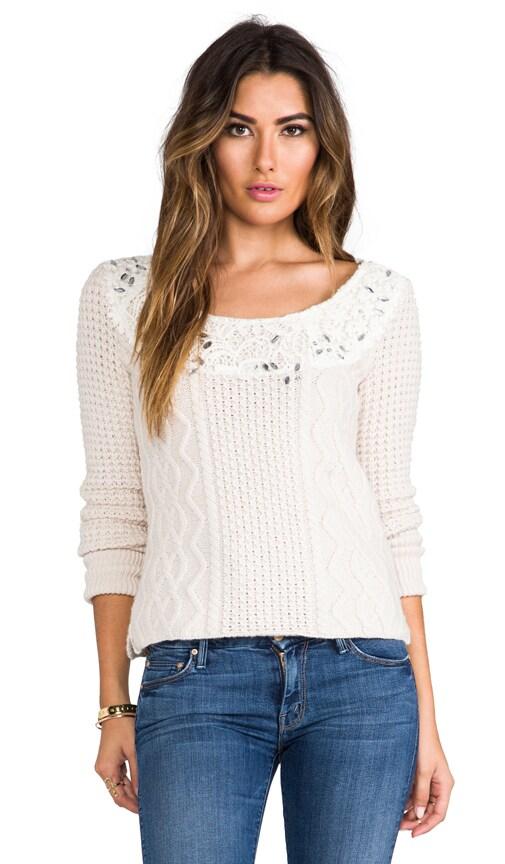 Aurora Yarn Winter Sparkle Pullover