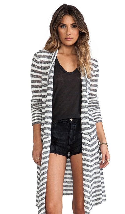 Forget Me Not Stripe Cardigan
