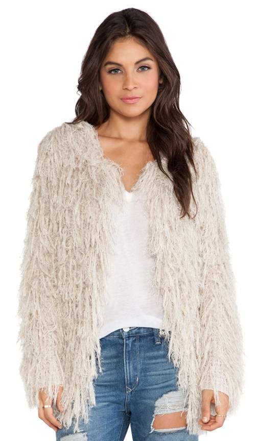 Faithful Shaggy Cardigan