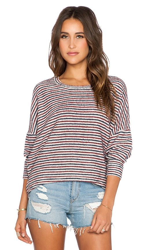 Little Ann Stripe Pullover