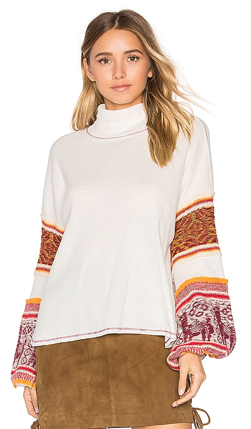 Free People Northern Lights Sweater in Ivory