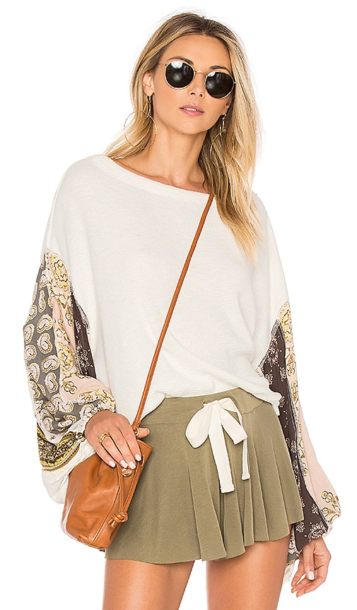 Blossom Thermal in Ivory. - size L (also in M,S) Free People