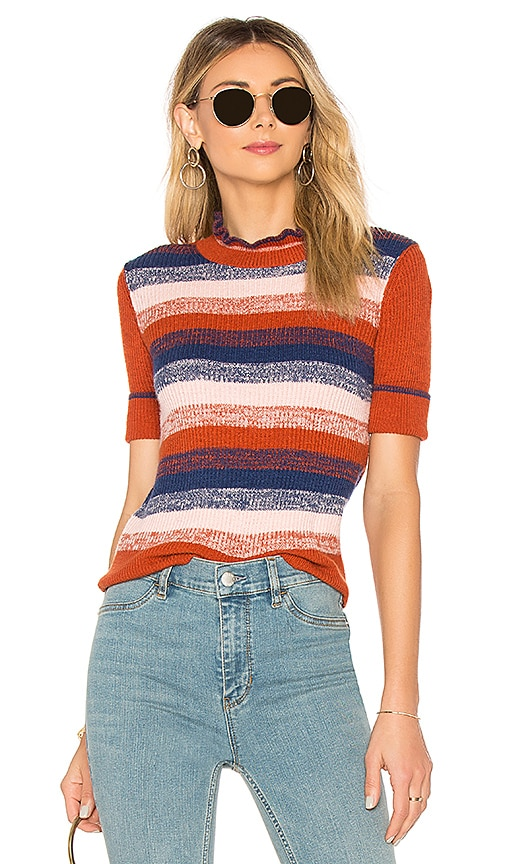 Free People Best Intentions Pullover in Brick