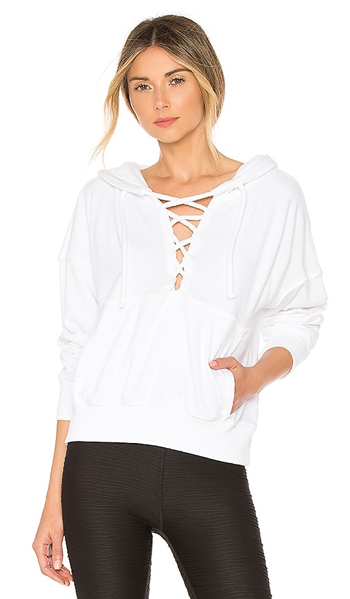 Free People Believer Sweatshirt in White