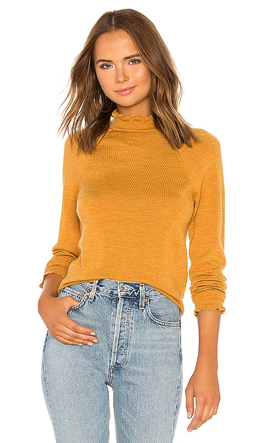 Needle Thread Free Pullover Revolve Mustard In Merino People And nZn71R