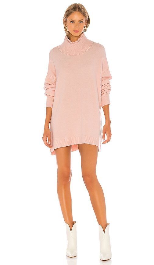 Afterglow Mock Neck Sweater Dress