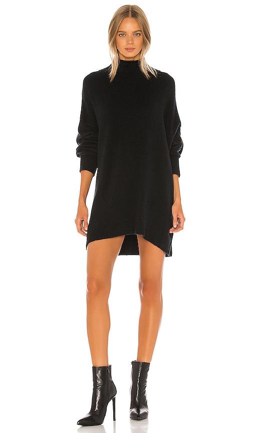 Afterglow Mock Neck Sweater Dress