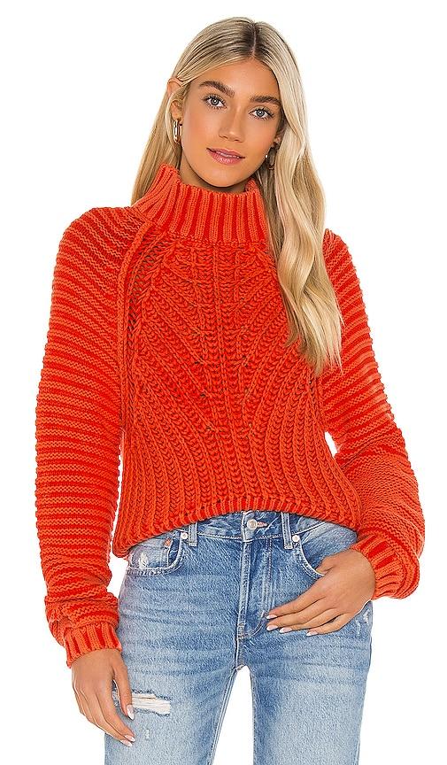Free People Women's Sweetheart Sweater In Love Glare