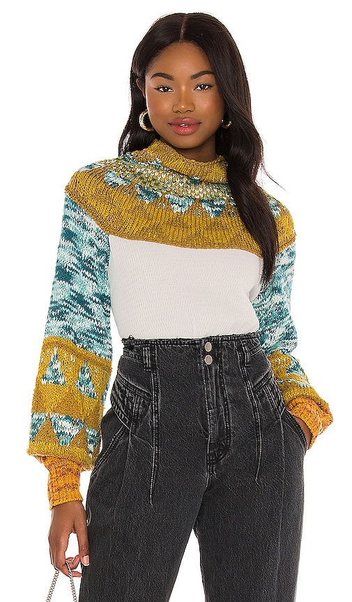 Free People Swit The Small Stuff Pullover