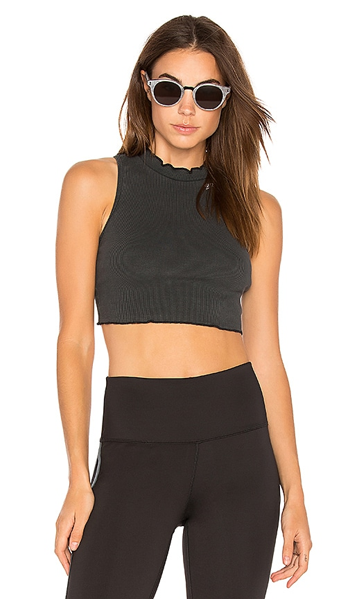 Free People Courage Tank in Black