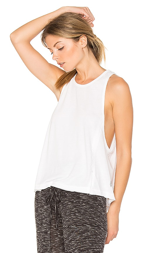 Free People Wicked Tri Blend Legend Tank in White