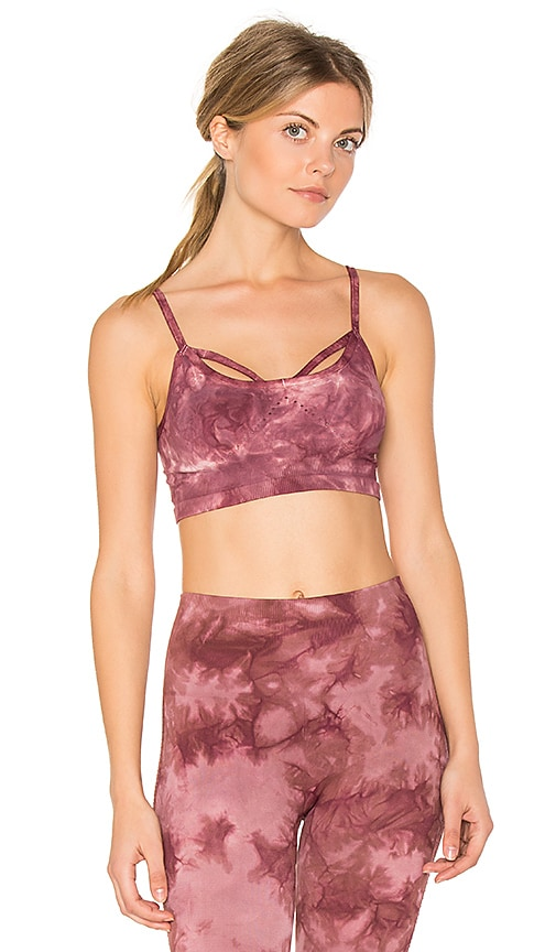Free People Washed Barely There Bra in Pink