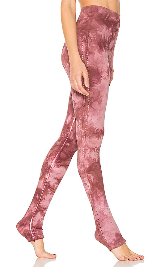 Free People Washed Barely There Legging in Pink